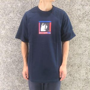 DIASPORA SKATEBOARDS JANE TEE NAVY