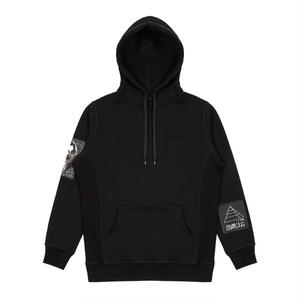 DREAMLAND SYNDICATE EMBROIDERED LOGO AND PATCHES HOODIE