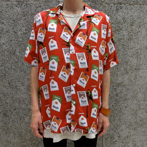 RHUDE    HAWAIIAN CIGARETTE  S/S SHIRTS