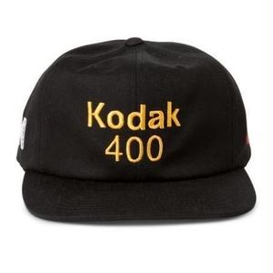 GIRL SKATEBOARDS X KODAK 400 6 PANEL HAT BLACK