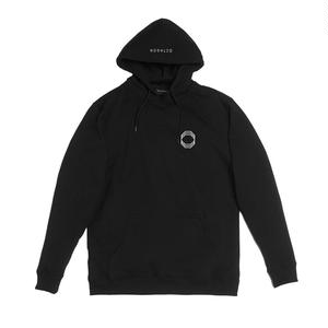 ÖCTAGON ORIGIN HOODED SWEATSHIRT BLACK