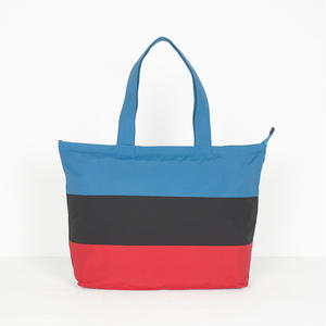 BY PARRA PANELED SUMMER TOTE BAG