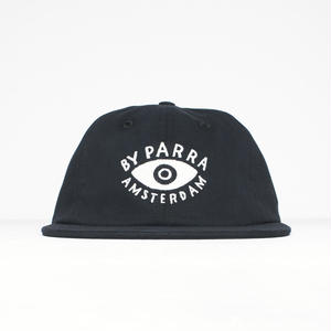 BY PARRA EYE 6PANEL HAT BLACK
