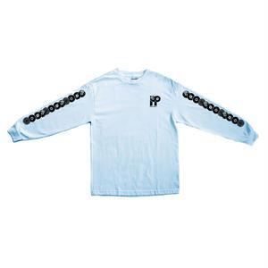 "PASS~PORT ""PP WORLD RECORDS"" L/S TEE POWDER BLUE"