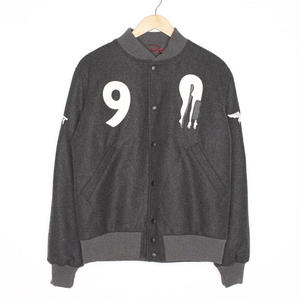 BY PARRA WOOL VARSITY JACKET ALL THAT EVER MATTERED