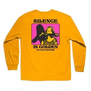 CHOCOLATE SKATEBOARDS SILENCE L/S TEE GOLD