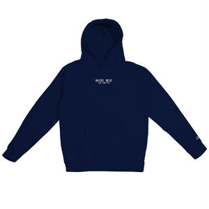 HOTEL BLUE LOGO CHAMPION HOOD NAVY