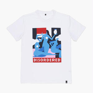 BY PARRA DISORDERED T-SHIRTS WHITE