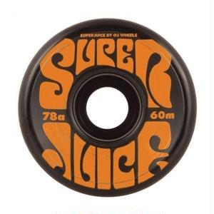 OJ WHEELS SUPER JUICE 60mm BLACK