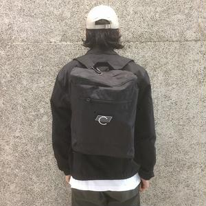 COMA BRAND CANVAS BACKPACK BLACK