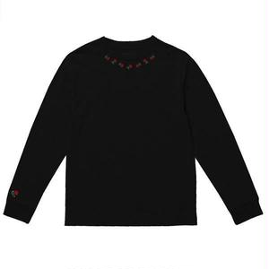THE QUIET LIFE ROSARY LONG SLEEVE TEE BLACK