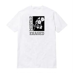 ERASED × MORTAR BLOSSOM SSTEE WHITE