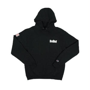 BELIEF WORLD TRADE CHAMPION HOODY BLACK