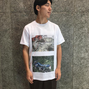 SOULLAND    HAKU T-SHIRT   WHITE