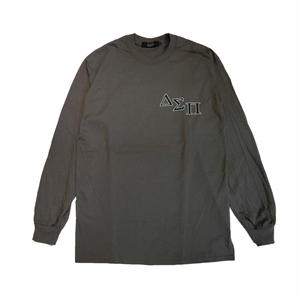 DIASPORA SKATEBOARDS OUTLINE MAGIC CIRCLE LONGSLEEVE GREY