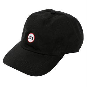 PSCN CIRCLE LOGO CAP BLACK