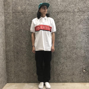 PATERSON LINE WEIGHT POLO WHITE
