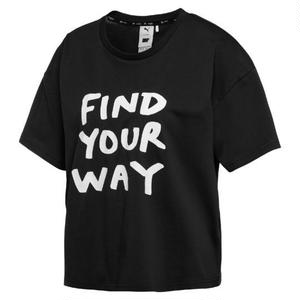 PUMA X SHANTELL MARTIN FIND YOUR WAY TEE BLACK