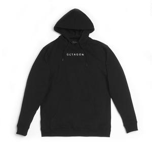 ÖCTAGON META HOODED SWEATSHIRTS BLACK