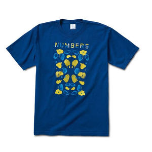 NUMBERS EDITION WATERCOLOR WOODMARK-S/S T-SHIRT LAPIS BLUE