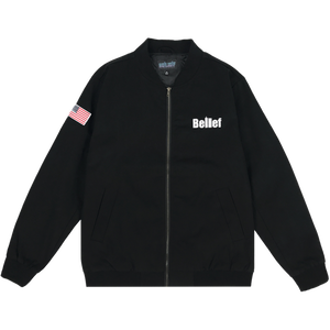 BELIEF WORLD TRADE JACKET BLACK