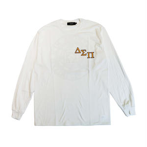 DIASPORA SKATEBOARDS OUTLINE MAGIC CIRCLE LONGSLEEVE WHITE