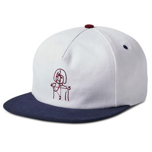 Numbers Edition 12:45 ANGEL HAT-TWILL 5-PANEL OFF WHITE