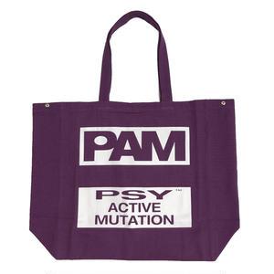 P.A.M   B.L.T.R.C TOTE BAG  PURPLE