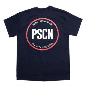 PSCN BACK CIRCLE LOGO SSTEE NAVY