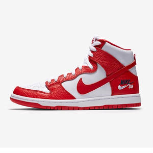 NIKE SB FUTURE COURT DUNK HIGH PRO RED/WHITE