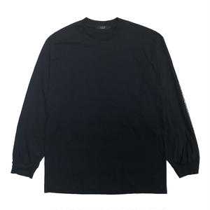 DIASPORA SKATEBOARDS LONG LETTER LS TEE NAVY