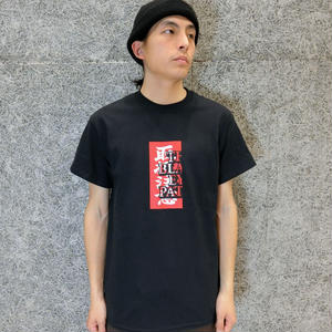 BLACK EYE PATCH   LOGO LABEL  TEE  BLACK