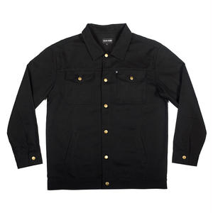 "PASS~PORT ""WORKERS"" LATE TWILL JACKET BLACK"