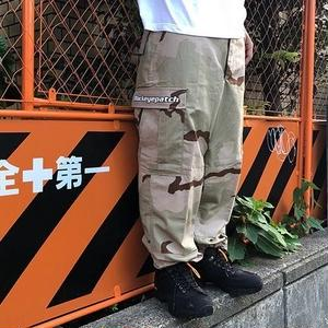 BLACK EYE PATCH LOGO CARGOPANTS CAMO