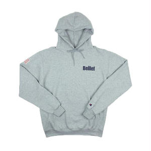 BELIEF WORLD TRADE CHAMPION HOODY GREY