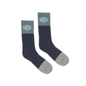 BELIEF TRIBORO SOCKS TEAL