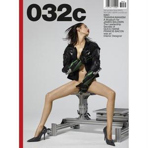 032c  Issue #35  cover- Kiko