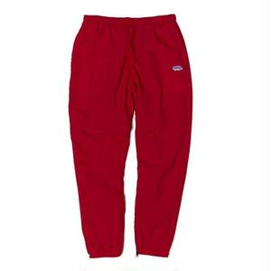 RAISED BY WOLF GEOWULF TRACK PANTS RED