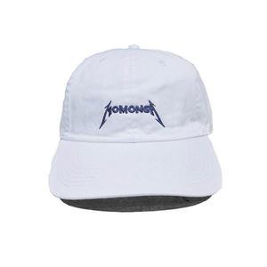 MOMONGA METAL LOGO CAP WHITE