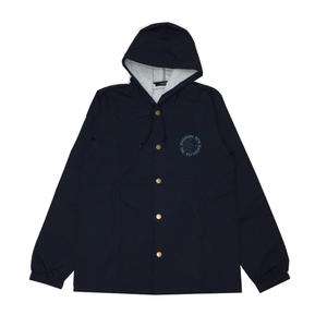 Diaspora Skateboards MC HOODED COACH JACKET NAVY