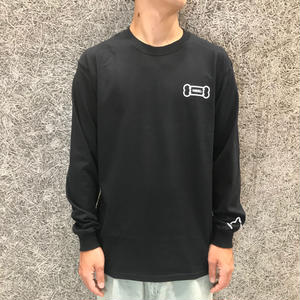 "PARK DELICATESSEN ""DELI DOG"" LONG SLEEVE TEE BLACK"
