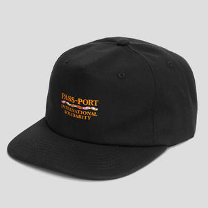 PASS~PORT  INTERSOLID CAP BLACK