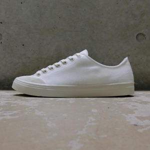 ERIK SCHEDIN CANVAS SNEAKER WHITE