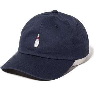 THE QUIET LIFE BOWLING PIN DAD HAT NAVY