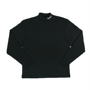 BELIEF CONNECT MOCK NECK BLACK