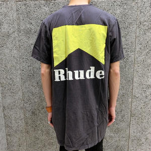 RHUDE    CIGARETTE  T-SHIRTS  BLACK
