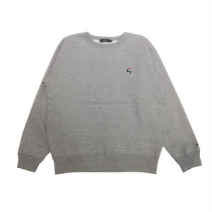 Diaspora Skateboards DET CREWNECK SWEAT GREY