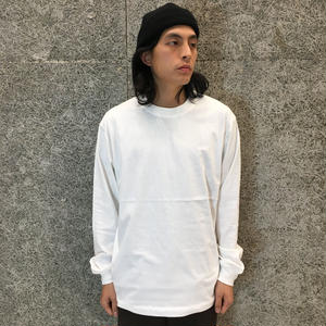 ALEXANDER WANG  HIGH TWIST LONG  SLEEVE  WHITE