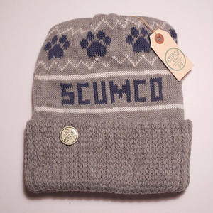 SCUMCO & SONS HELLCATS TOBOGGANER BEANIE GREY