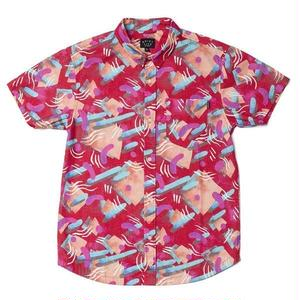 THE QUIET LIFE GIBBLER BOTTON DOWN SHIRTS RED